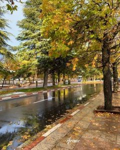 Ifrane city first stop in our trip