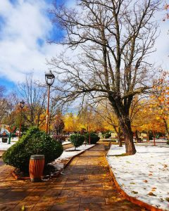 The snow time in Ifrane