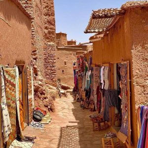 Ait ben haddou kasbah in our way to Marrakech