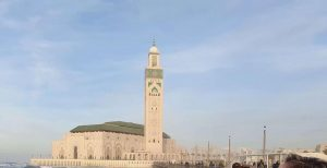 Casablanca mosque is our first visit