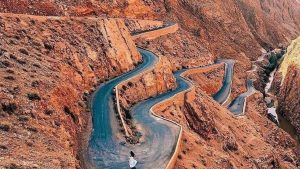 Dades gorges also is a great place to vistis in our 12 days tour from Casablanca