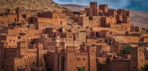 in our 12 days tour from Casablanca will see ait ben haddou kasbah