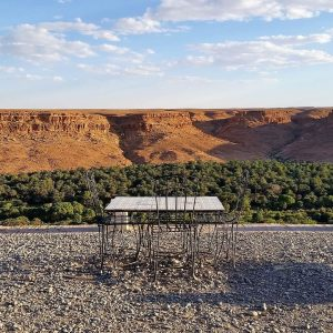 Ziz valley panoramic view