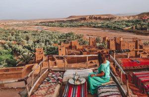 Pictuer inside the Kasbah